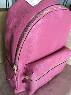 Coach Backpack Pink Leather Brand New Authentic $198 for Sale in Phoenix, AZ