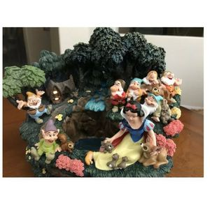 Snow White and the Seven Dwarfs fountain for Sale in Richmond, CA