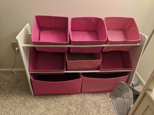 Kids 8 shelf organizer for Sale in MIDDLEBRG HTS, OH