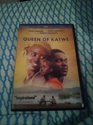 Queen of Katwe DVD for Sale in Hutchinson, KS