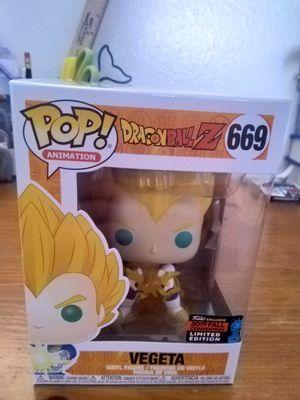 DBZ Dragon Ball Z SS Vegeta Shared Sticker NYCC Funko Pop for Sale in San Diego, CA