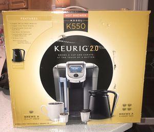 Keurig 2.0 K550 for Sale in Dallas, GA