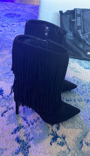 Suede fringe Sam Edelman booties! Size 6 for Sale in Boca Raton, FL