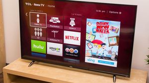 55 inch TCL smart tv good condition $150 for Sale in Fullerton, CA