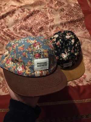 Profound Aesthetic hats $15 each for Sale in Modesto, CA