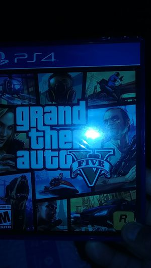 Grand theft auto 5 brandnew never been used still in plastic for Sale in Detroit, MI