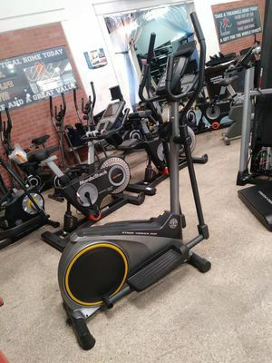 New Open Box. 3 yr warranty Golds Gym Small Ellipticals Bike-3 year warranty