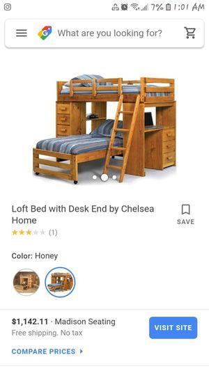 Loft style twin bed for Sale in Wenatchee, WA