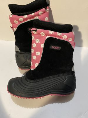Sporto Girls Sz 4 kid teen snow boots for Sale in Torrance, CA