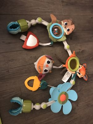 Tiny Love universal arch toy (with sounds) ideal for car seat, stroller, bouncer, crib, etc for Sale in Santa Ana, CA