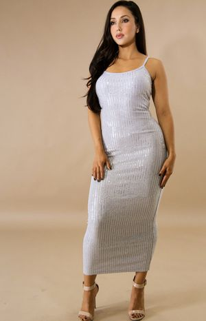 Silver sequin dress small for Sale in North Palm Beach, FL