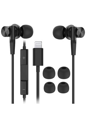 Lightning Headphones with Connector, Microphone - MFi Certified Wired in Ear Earbuds, for Sale in Houston, TX