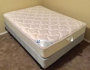 Full Size Bed. Sealy Mattress , Box and frame all in excellent clean condition. No stains or damage, from a clean , Smoke Free home . for Sale in Wylie, TX