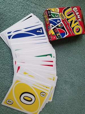 Large UNO deck for Sale in Anaheim, CA