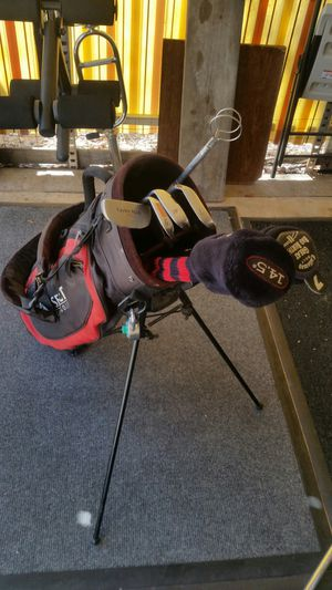 Golf bag with assorted clubs. for Sale in Phoenix, AZ