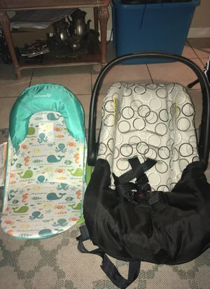 Summer baby bath and car seat for Sale in Tampa, FL