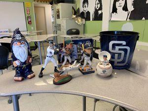 Padres Memorabilia Bobbleheads Gonzalez Greene Blanks Eckstein for Sale in La Mesa, CA