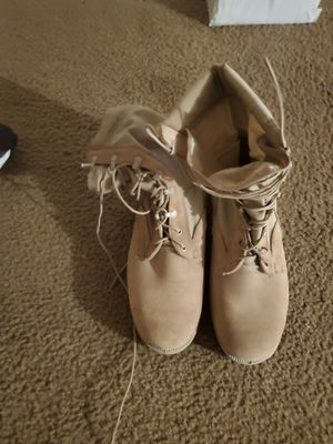 Military style boots - size 13 1/2 - worn 3 times for Sale in Middleburg, FL