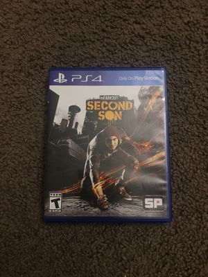 inFamous Second Son PS4 for Sale in Mesa, AZ