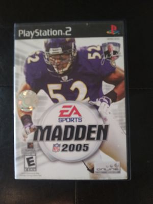 Madden 2005 PS2 for Sale in Okatie, SC