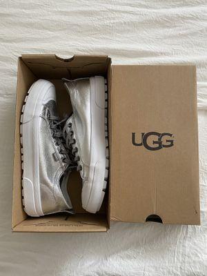 Ugg | Metallic Silver Platform Sneaker | Size 7.5 for Sale in Austin, TX