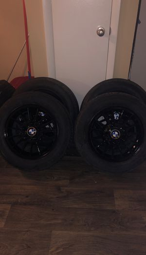 BMW Tires and Black Rims set for Sale in Indian Trail, NC