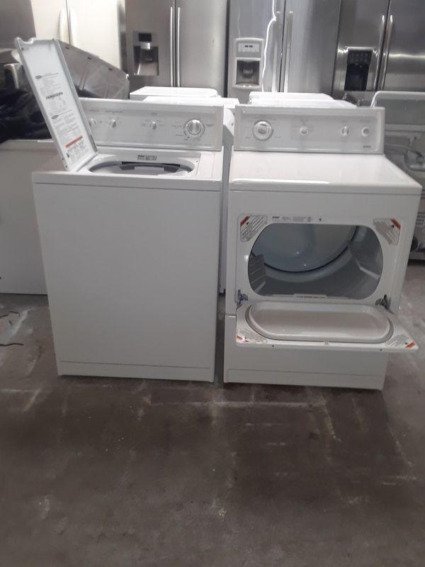 Washer and dryer gas Kenmore good condition 90 days warranty labadora y secadora gas buenas condiciones Kenmore 90 dias de garantia