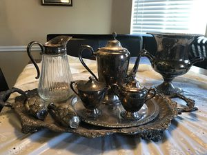 Vintage silver plated collectibles...9 total for Sale in Prosper, TX