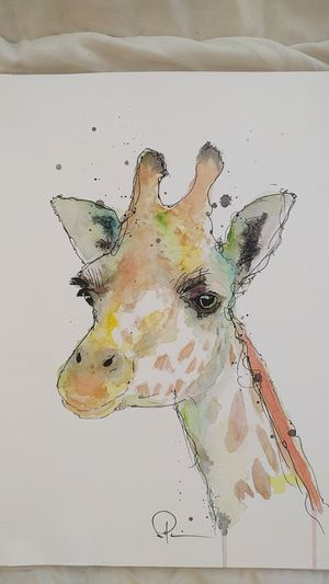 Giraffe painting for Sale in San Francisco, CA