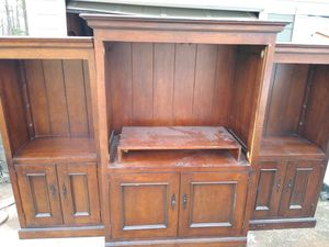 Armoire with bookshelves for Sale in Powder Springs, GA