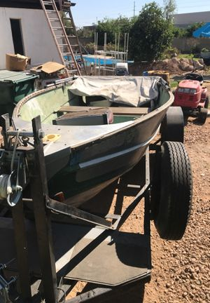 14' aluminum boat for Sale in Mesa, AZ