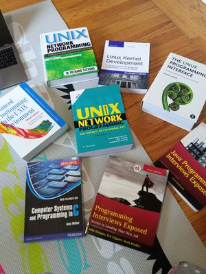Linux, Networking, programming interview and software books for Sale in Sunnyvale, CA