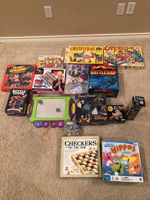 Games, puzzles, crafts for Sale in Van Alstyne, TX