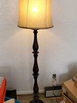 Solid Wood Floor Lamp Beautiful for Sale in Stockton,  CA