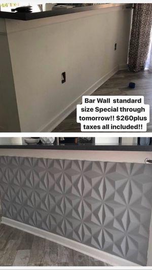 Modern 3D kitchen island wall decor for Sale in Pembroke Pines, FL