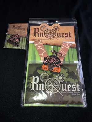 Disney Parks PinQuest Landyard & Pin New!!! for Sale in Winter Haven, FL