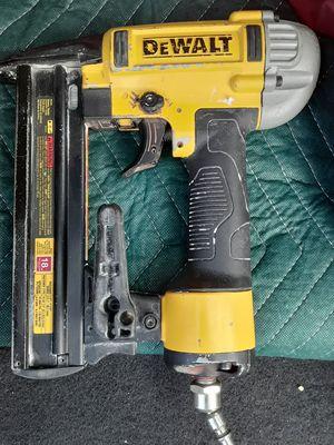 USED DEWALT 18G NARROW CROWN STAPLE GUN $65 for Sale in Tustin, CA