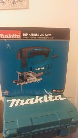 Makita corded jig saw for Sale in Klamath Falls, OR