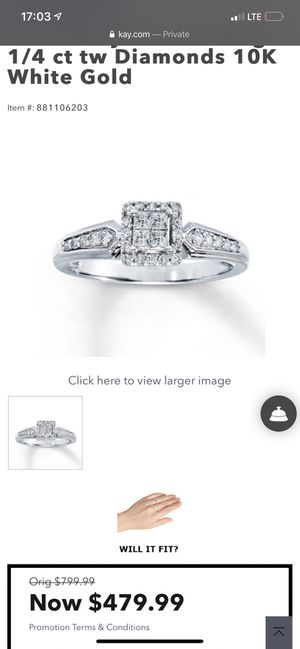 Engagement Ring for Sale in Pueblo, CO