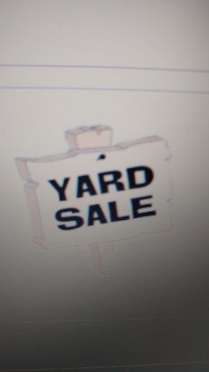 Yard 'Sale' - EVERYTHING IS FREE! for Sale in Piscataway, NJ
