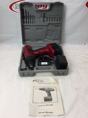 Tracker Cordless Drill Kit (076-180) (MXP013097) for Sale in Lakeland, FL
