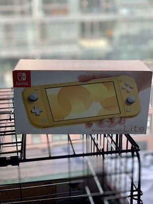 Nintendo Switch Lite Yellow for Sale in Washington, DC