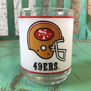 Vintage San Francisco 49ERS Mobil Glass for Sale in Los Angeles, CA