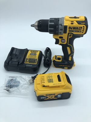 Dewalt 20V Max XR 1/2 inch Cordless Drill Driver , Battery, Charger and Bag for Sale in Palmdale, CA