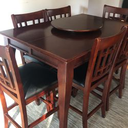 Bar Height Table w/ 8 Chairs for Sale in West Linn,  OR