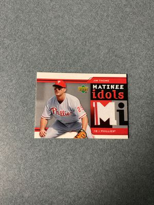 Jim Thome baseball card for Sale in St. Louis, MO