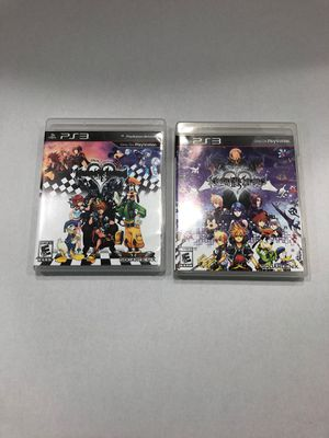 Kingdom Hearts HD 1.5 And 2.5 Remix PS3 Games for Sale in Houston, TX
