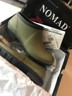 Woman's NOMAD ankle rain boots for Sale in Chattanooga, TN