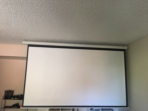 Projector screen for Sale in Guadalupe, AZ