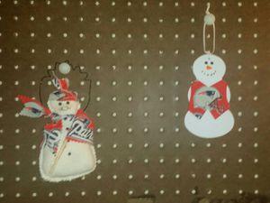 2 New England Patriots Christmas Ornaments for Sale for sale  Las Vegas, NV